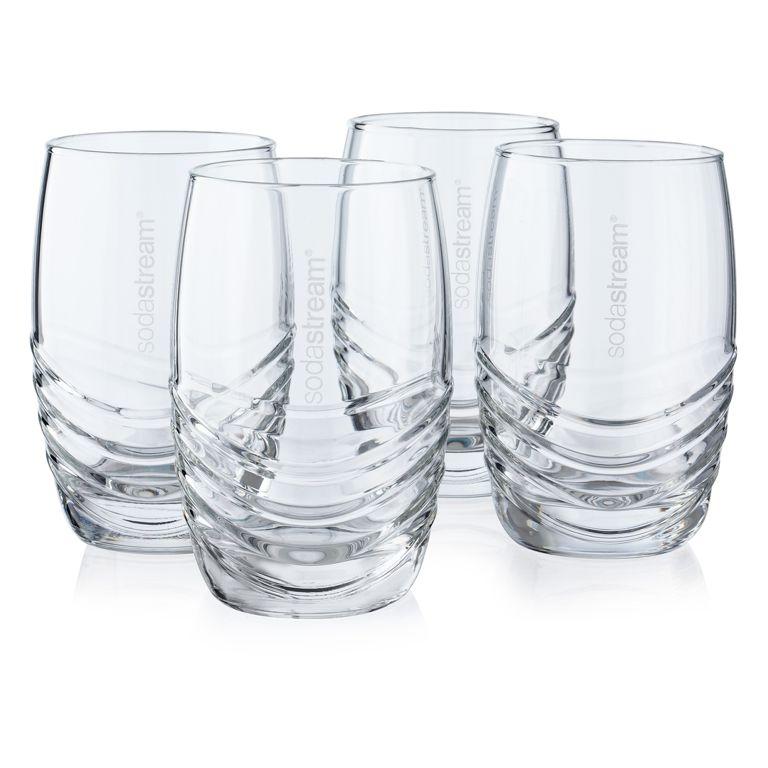 SodaStream designové sklenice 4ks