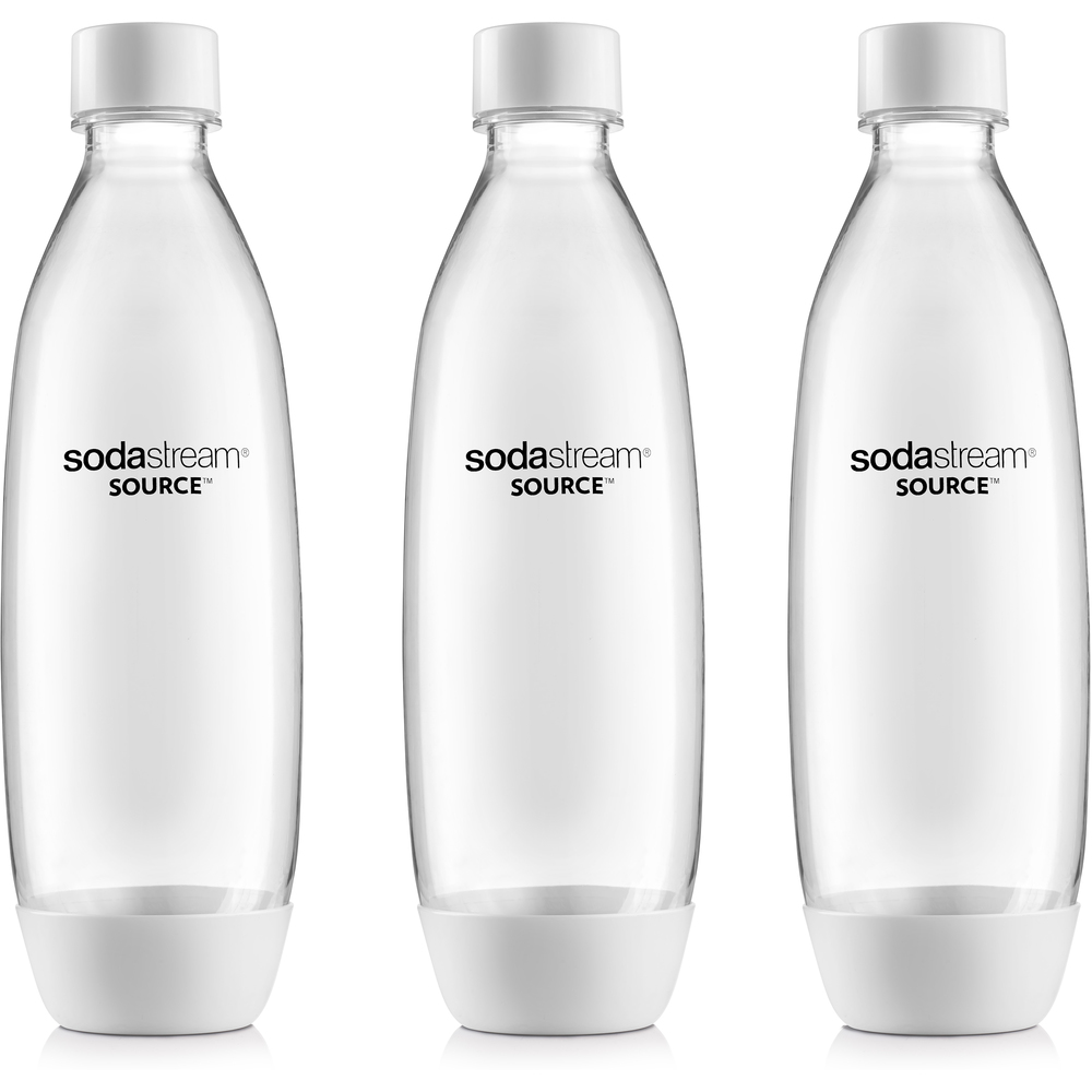 SodaStream lahev Fuse 1l TriPack bílá (Play, Power, Source, Spirit)